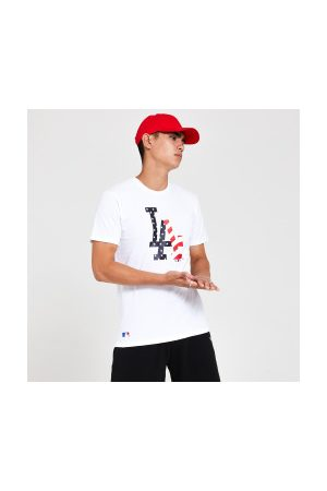 New Era T-Shirt MLB Los Angeles Dodgers Infill USA Pour Homme