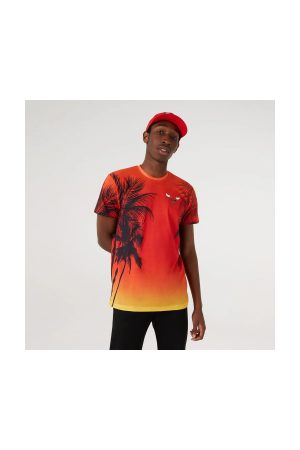 New Balance Homme T-shirts - T-Shirt NBA Chicago Bulls New Era Summer city pour homme