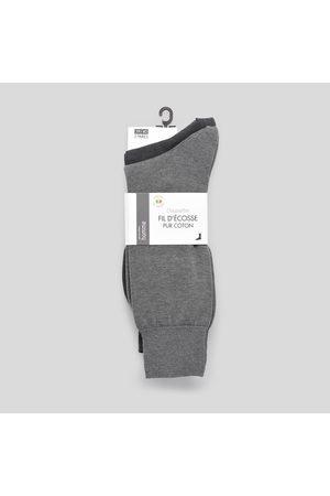 Monoprix Lot de 2 paires de chaussettes en jersey bicolor