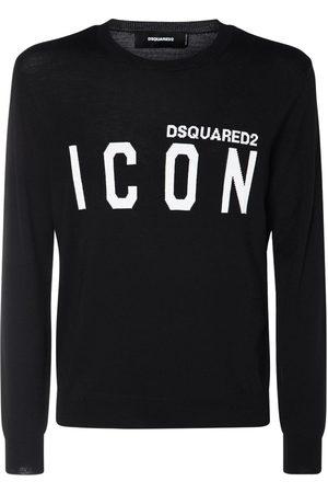 """Dsquared2 Pull-over En Maille De Laine Jacquard """"icon"""""""