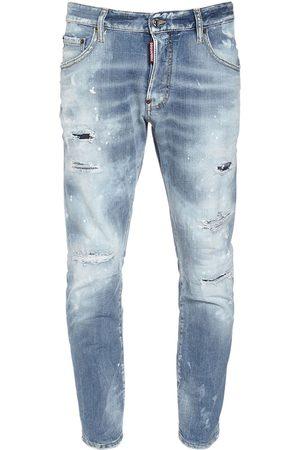 Dsquared2 Jean Skater En Denim De Coton 16,5 Cm