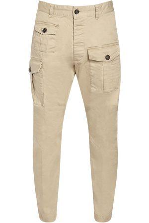 Dsquared2 Pantalon Sexy Cargo En Coton Stretch 16 Cm