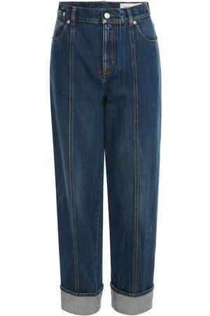 Alexander McQueen Jeans En Denim De Coton