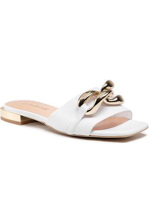 R. Polański Femme Mules & Sabots - Mules / sandales de bain R.POLAŃSKI - 1271 Biały Lico