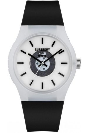 Superdry Homme Montres - Montre Homme Superdry SYG347B - Bracelet Silicone
