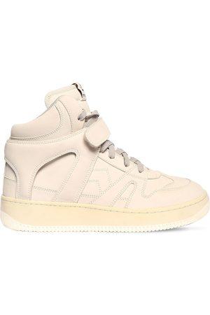 """Isabel Marant Sneakers Montantes En Cuir """"brooklee"""" 30 Mm"""