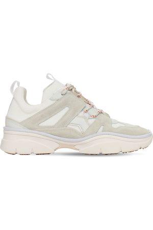 "Isabel Marant Sneakers En Mesh Et Daim ""kindsay"" 30 Mm"