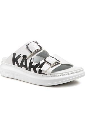 Karl Lagerfeld Femme Mules & Sabots - Mules / sandales de bain - KL62505 White Lthr