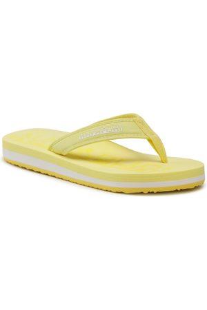 Napapijri Femme Tongs - Tongs - Stick NP0A4FTIYA71 Freesia Yellow YA7