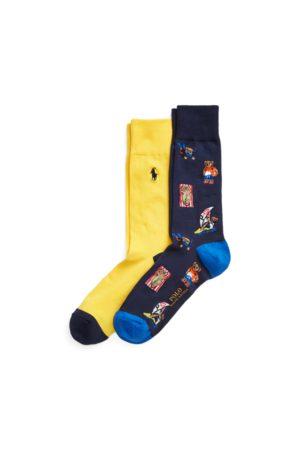 Polo Ralph Lauren Homme Chaussettes & Bas - 2 paires de chaussettes Polo Bear