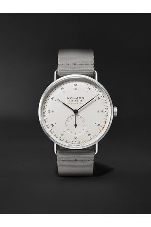 Nomos Glashütte Metro Neomatik 41 Automatic 40.5mm Stainless Steel and Webbing Watch, Ref. No. 1165