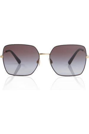 Dolce & Gabbana Lunettes de soleil rectangulaires