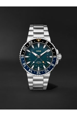 Oris Homme Montres - Aquis Whale Shark Limited Edition Automatic 43.5mm Stainless Steel Watch, Ref. No. 01 798 7754 4175-Set