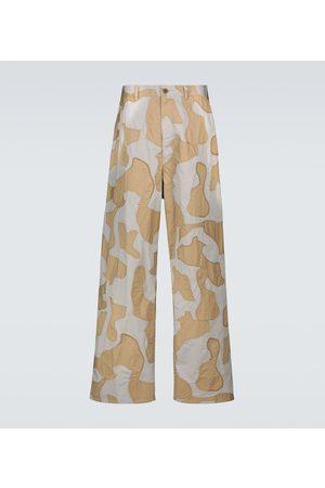 UNDERCOVER Pantalon Camouflage en coton