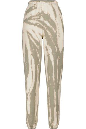 Les Tien Pantalon de survêtement tie and dye en coton