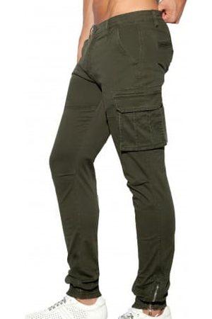 Es Homme Cargos - Pantalon Cargo Kaki