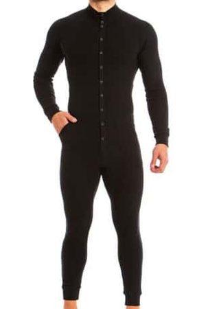 Modus Vivendi Homme Pyjamas - Grenouillère Tiger Noire