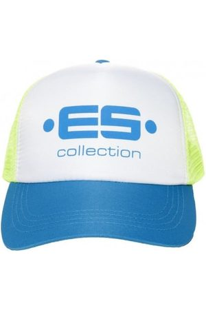 Es Casquette Baseball Print Logo Bleue