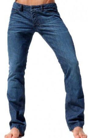 Rufskin Homme Shorts en jean - Pantalon Jeans West Indigo