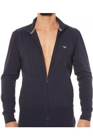 Emporio Armani Tenue d'intérieur Zip Basic Loungewear Marine