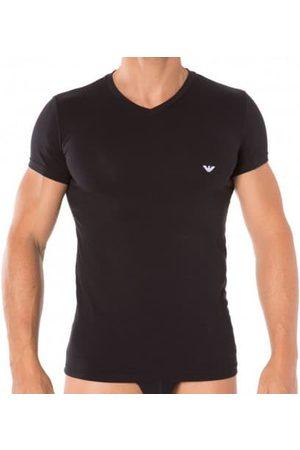 Emporio Armani T-Shirt V-Neck Stretch Cotton