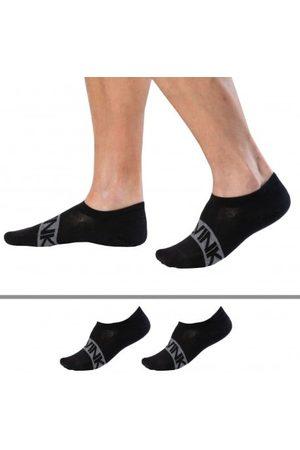Calvin Klein Homme Chaussettes & Bas - Lot de 2 Paires de Socquettes Simon Noires