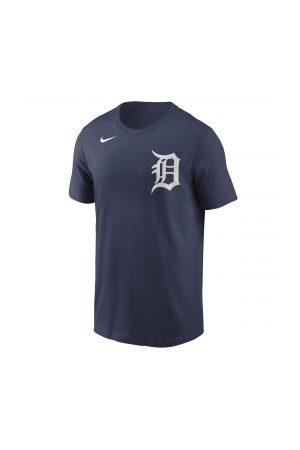 Nike Homme T-shirts - T-Shirt MLB Detroit Tigers Wordmark marine pour Homme