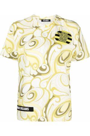 RAF SIMONS T-shirt à imprimé abstrait