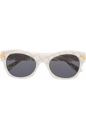 Bottega Veneta Homme Lunettes de soleil - Lunettes de soleil à monture géométrique