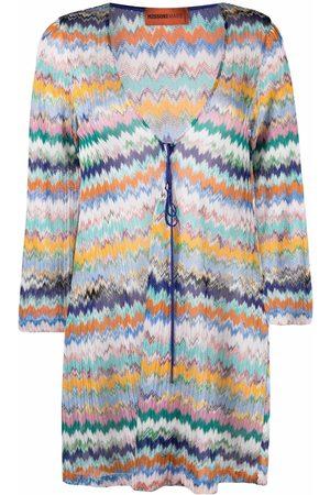 Missoni Femme Robes de plage - Robe-tunique à motif zig-zag