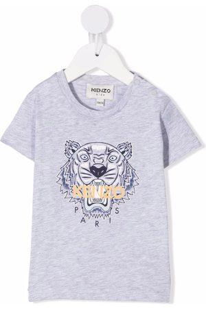 Kenzo Garçon T-shirts - T-shirt à imprimé Tiger