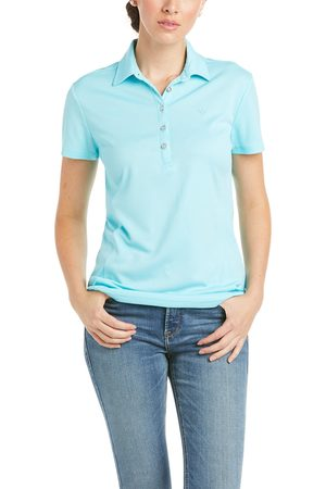 Ariat Femme T-shirts - Women's Talent Polo Shirt in Cool Blue