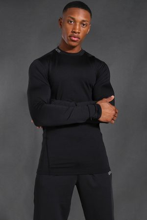 Boohoo Man Active Compression Long Sleeve T-shirt Homme