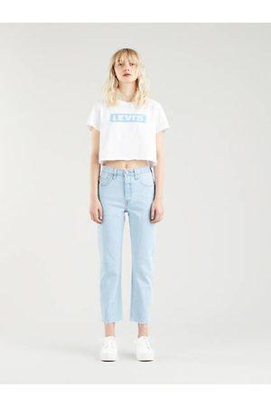 Levi's 501® Original Crop Jeans Indigo clair / Samba Goal