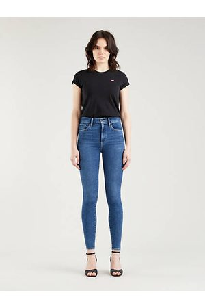 Levi's Mile High Super Skinny Jeans Indigo foncé / Venice For Real