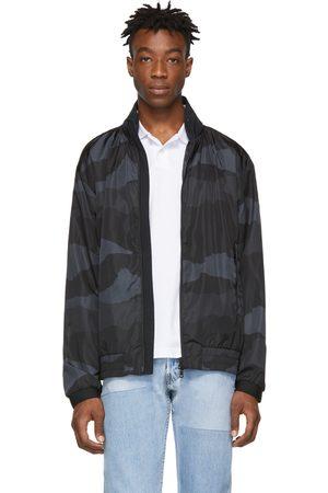 Moncler Blouson à motif camouflage noir Theodore