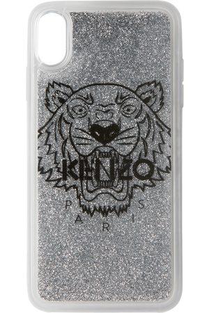 Kenzo Étui pour iPhone X+ argenté Tiger