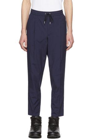Moncler Pantalon bleu marine Casual