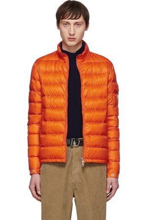Moncler Blouson en duvet orange Lambot