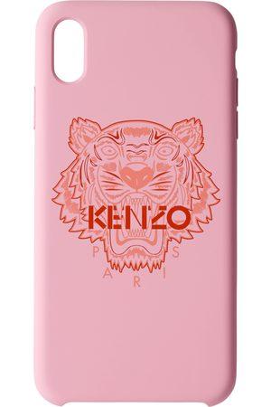 Kenzo Étui pour iPhone X+ rose et rouge Tiger