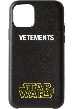 Vetements Étui pour iPhone 11 Pro à logo noir édition STAR WARS