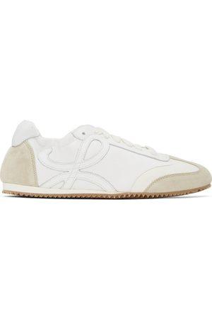 Loewe Baskets blanc cassé et blanches Ballet Runner