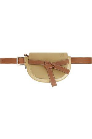Loewe Sac-ceinture beige Large Gate