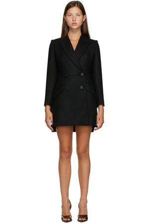 Alexander McQueen Robe blazer noire