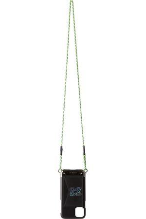Givenchy Étui pour iPhone 11 en cuir noir