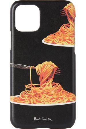 Paul Smith Étui pour iPhone 11 Pro noir Spaghetti