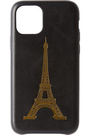 Vetements Étui pour iPhone 11 Pro noir Eiffel Tower