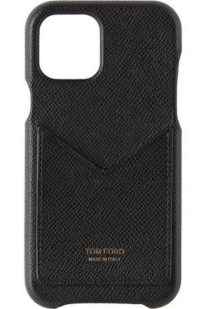 Tom Ford Étui pour iPhone 11 Pro à fente pour cartes noir