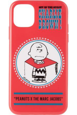 Marc Jacobs Étui pour iPhone 11 rouge Charlie Brown édition Peanuts