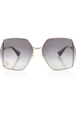 Gucci Lunettes de soleil carrées oversize